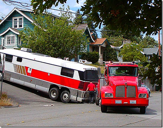 bus tow truck 2