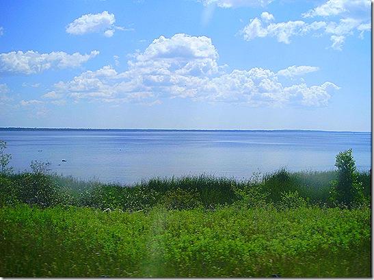 Lake Michigan bay