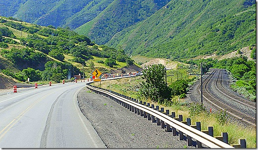 US 6 Utah twisty sign