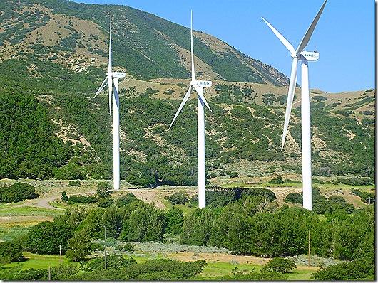 Utah windmills