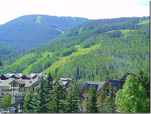 Vail mountainside