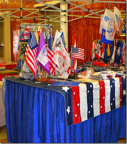 Flags Galore booth