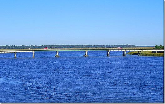 Georgia river bridge