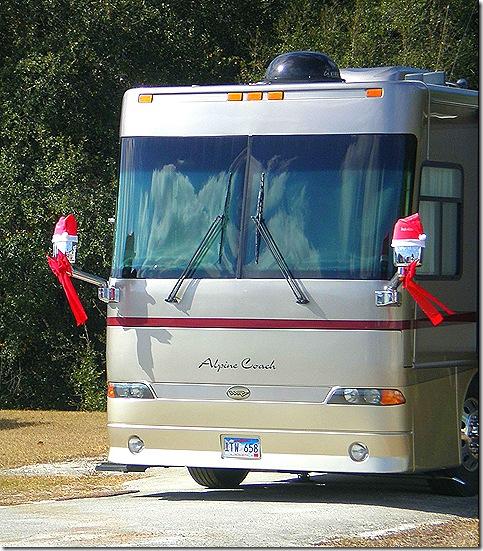 Alpine Santa Coach