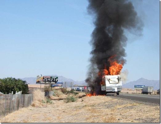 trailer fire