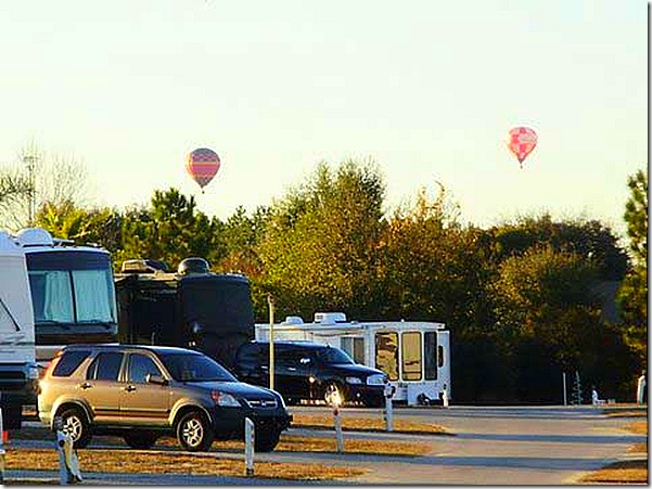 Hot air balloons Orlando TTN