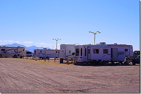 Pima Countyu Fair RV park