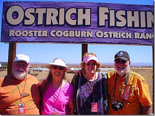 Nick Terry Jan Greg Ostrich Fishing