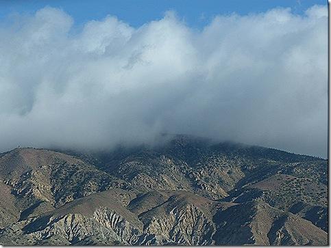 Tehacapie clouds