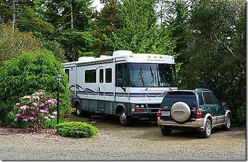 Florence Elks lodge RV park