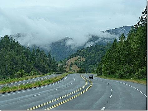 Fog shrouded mountains 2