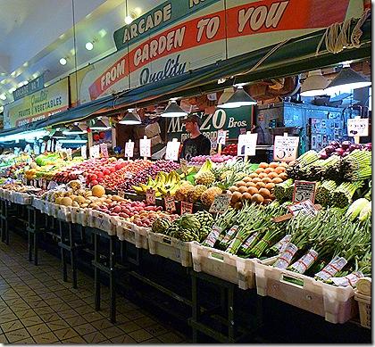 Oike Place produce