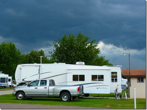 Elkhart campground storm