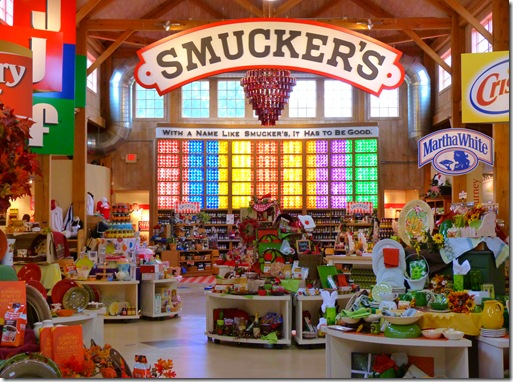 Smuckers inside