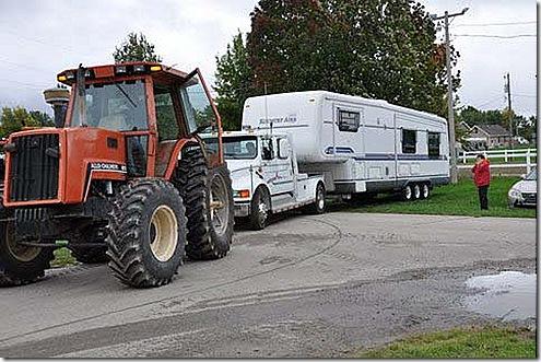 Tractor truck trailer