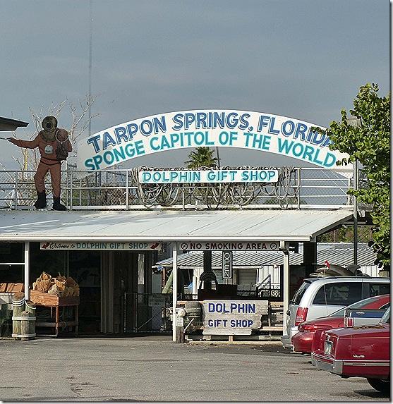 Tarpon Springs sign