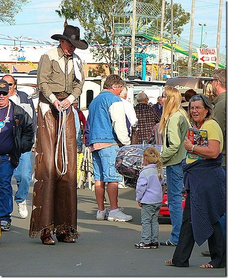 Stilt cowbow