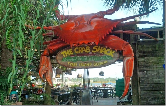 Crab Shack entrance
