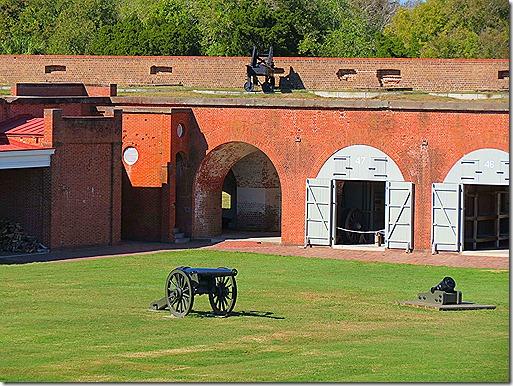 Fort inside