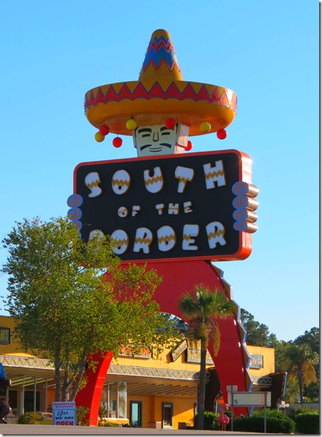 South of Border sign2