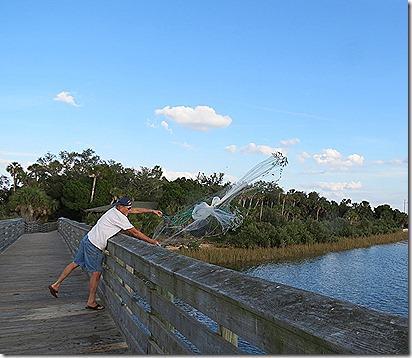 Throwing net 2