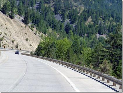 I 90 Montana downhill 2