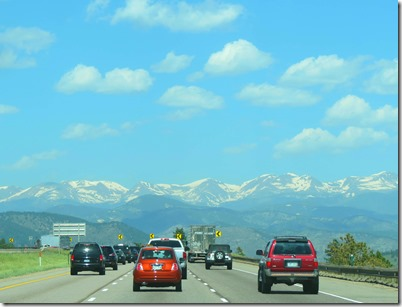 I70 Colorado rockies
