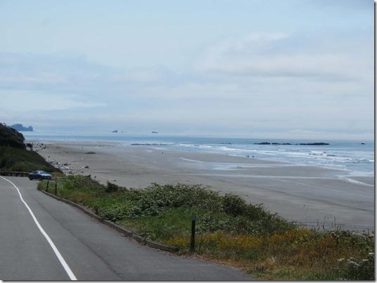 First beach view
