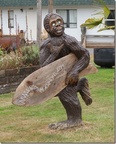 Bigfoot surfer