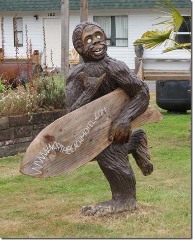 Bigfoot surfer