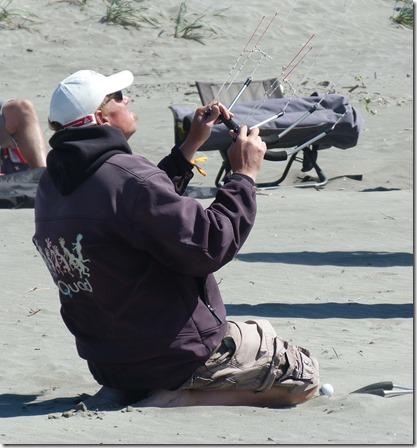 Twin kites flier