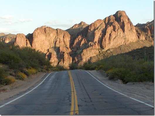 arizona mountain road