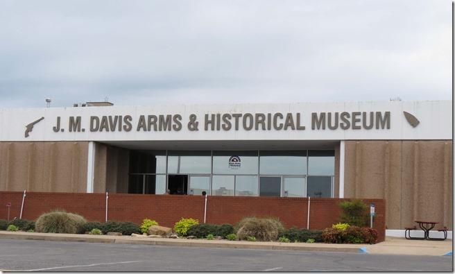 Davis gun museum outside