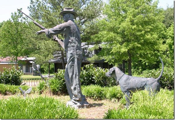 Hunting statue 2