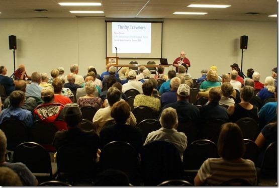 Nick giving seminar 3