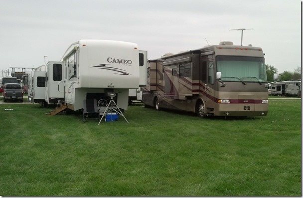 RVs at Escapade 2