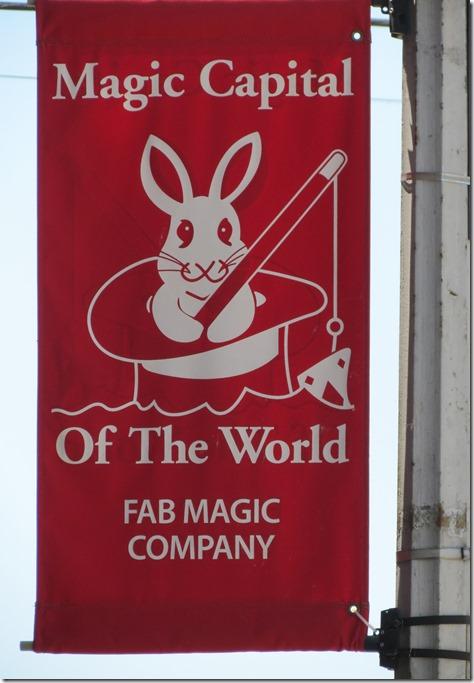 Magic Capital sign 2