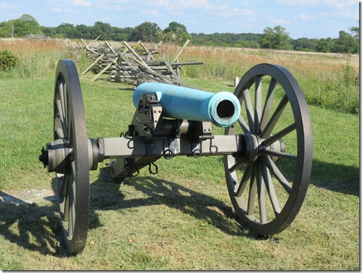 Cannon and fence