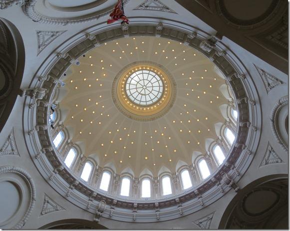 Chapel Dome inside