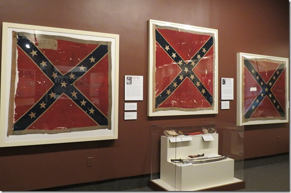 Confederatew battle flags