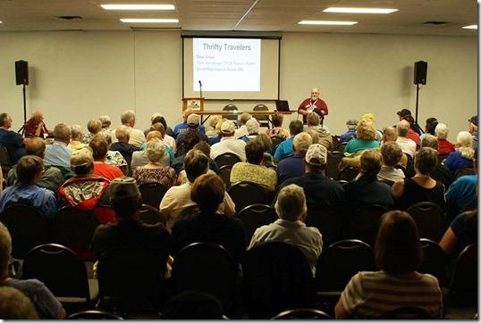 Nick giving seminar 3 small