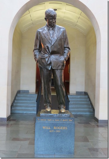 Will Rogers statue 2