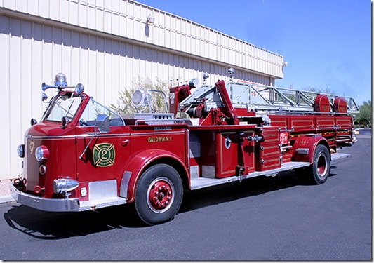 1955American La France 75 foot Aerial Truck from Baldwin NY