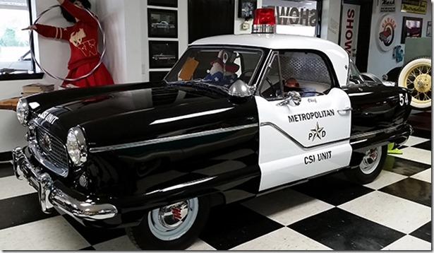Metro cop car