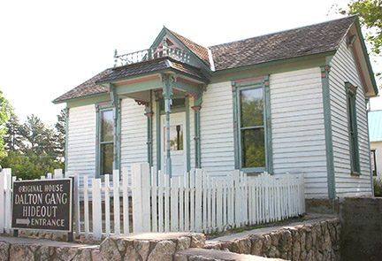 House at Dalton Gang Hideout
