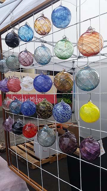 Glass balls small