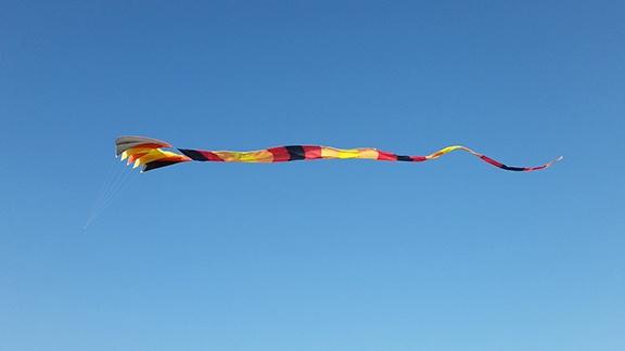Big Kite small