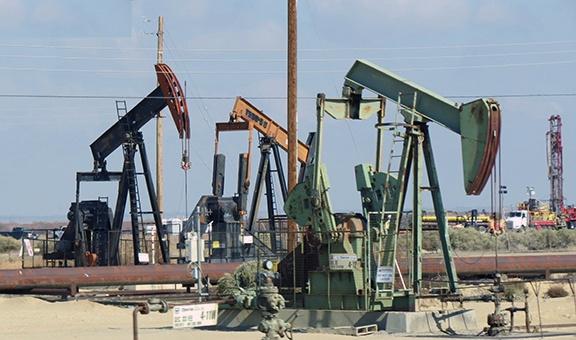 Oil wells small