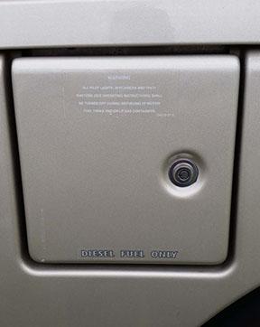 Fuel door