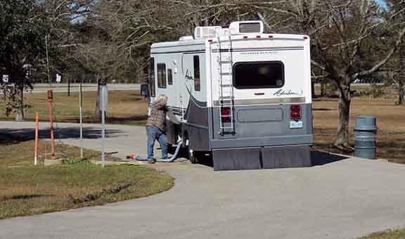 Mississippi dump station small